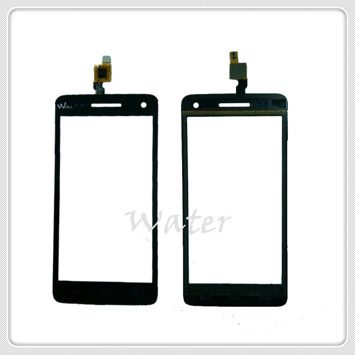 In stock Touch Screen Digitizer For Wiko Rainbow Touch Screen With Black Color,Free Shipping+Tracking Information(China (Mainland))