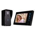 7 Video Intercom 1000TVL IR Night Vision Waterproof Camera Monitor Rain Cover Door Phone Doorbell F4345A1