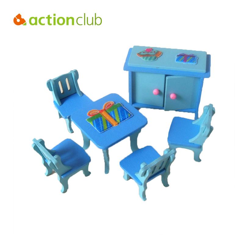2016 Furniture Toys Dollhouse Furniture Miniature Furniture Play Toys For Girls Miniature Rooms Gifts For Kids WJ023(China (Mainland))