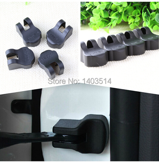 4pcs/lot Car styling Door Check Arm Protection Cover For Subaru Forester Outback Legacy Impreza XV BRZ Tribeca(China (Mainland))