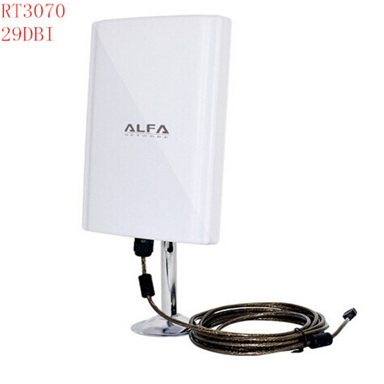 USB WiFi Adapter ALFA 039H Pannel Chipset 3070 58dbi Antenna Outdoor wifi antenna waterproof High Power Wireless Adapter(China (Mainland))