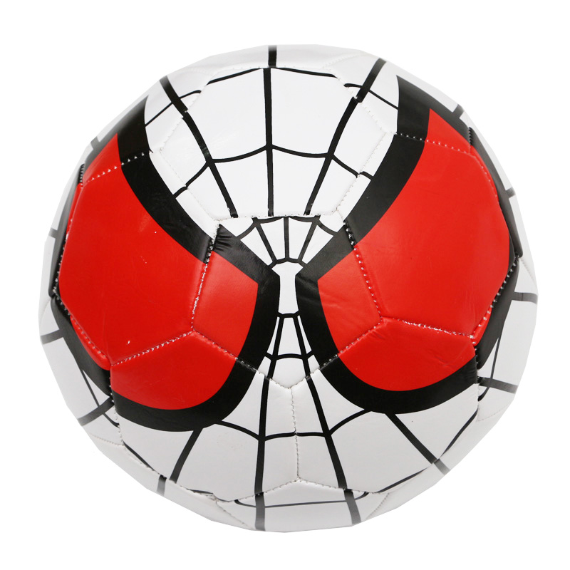 2016 New Style Spider-Man Soccer Ball Machine Stitching Not Easy to wear Size 5 Football Ball Students Training With The Ball(China (Mainland))