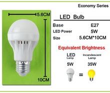 Aluminum Cooling LED Bulb 3~15w E27 LED Lamp 220v LED bulb Light 5W 7W 9W 12W Lampara Lampada LED Bombilla Ampoule SMD 5730(China (Mainland))