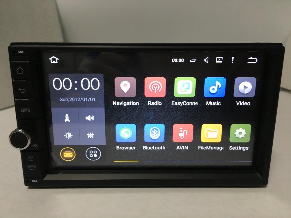 2Din Universal radio HD 1024*600 7'' Double Android 5.1.1Car GPS Universal 3G wifi car Audio auto Stereo car Radio Navigation(China (Mainland))