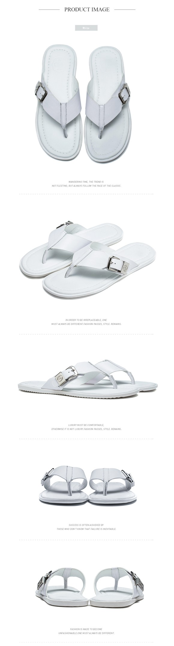 f2fb34ccbfd15a Wholesale OPP Men S Casual Fashion Flip Flops Leather Sandals Non ...