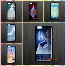 Lovely Princess Cartoon Cinderella Castle Cover Case For Samsung Galaxy A5 A7 J1 J5 J7 Core 2 Alpha Ace2 Ace3 Ace4 HTC ONE S X(China (Mainland))
