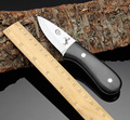 COLT handmade hunting knife 440c blade outdoor camping survival tactics fixed knife ebony handle military pocket