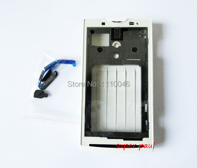 Original Replacement Parts For Sony Ericsson Xperia X10 X10i housing full set Cover Carcase Case, 10PCS/LOT Free ship(China (Mainland))