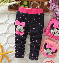 new 2015 spring autumn baby girls winter leggings children outerwear thick pants leisure kids warm velvet girl legging trousers(China (Mainland))