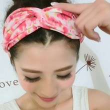 2015 Fashion Girls Casual Yoga Elastic Turban Twisted Knotted Hair Band Headband Time limited Hot