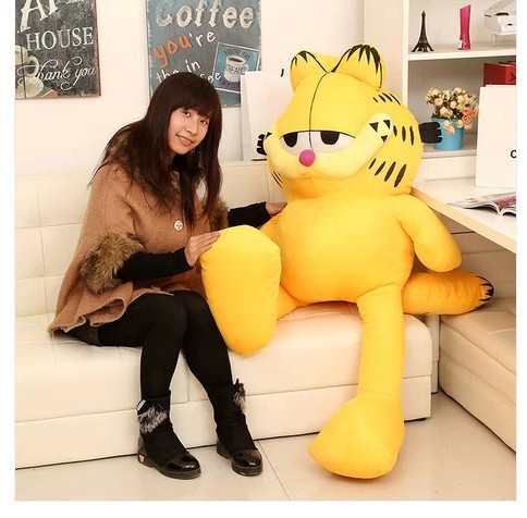 NEW STuffed plush toy largest 150cm Garfield doll about  59 inch soft Toy birthday gift wt4850