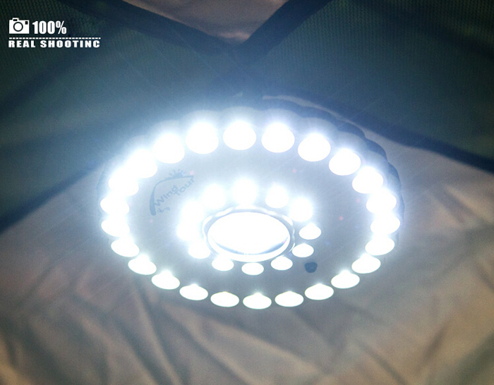 Super Bright 3 Models 41 LEDs Tent Light Outdoor Camping Fishing Light Campsite Hanging Lamp(China (Mainland))