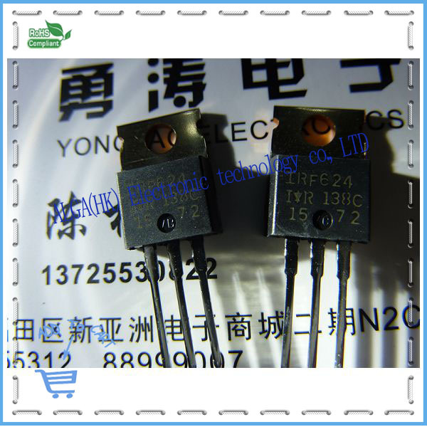 IRF624 FET new original authentic IR250V photographed direct marketing business integrity Specials(China (Mainland))