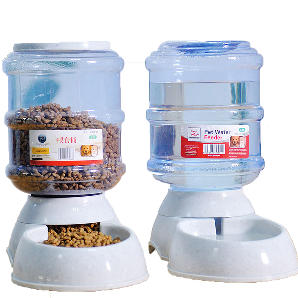 Pet drinkers cat dog 3.5L automatic feeder drinking animal pet bowl water bowl for pets Dog Automatic Drinkers(China (Mainland))