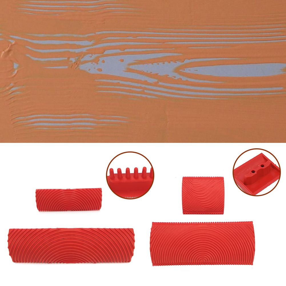 2 шт. садовый резиновый DIY Имитация дерева набор роликов для покраски текстура aeProduct.getSubject()