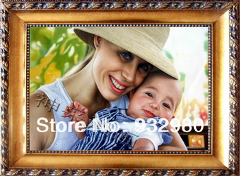 Wholesale 100% handmade children  portrait painting  Family portrait painting by professional artists free shipping
