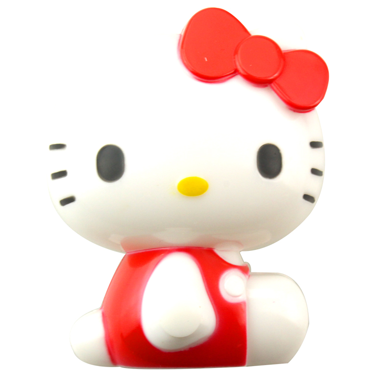 Hello Kitty Sweet dreams night light cartoon soft white for home home bedroom decoration lamp nightlight sweet dreams child gift(China (Mainland))