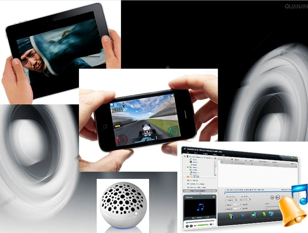 wireless bluetooth a2dp speaker for ipad ipod and iphone