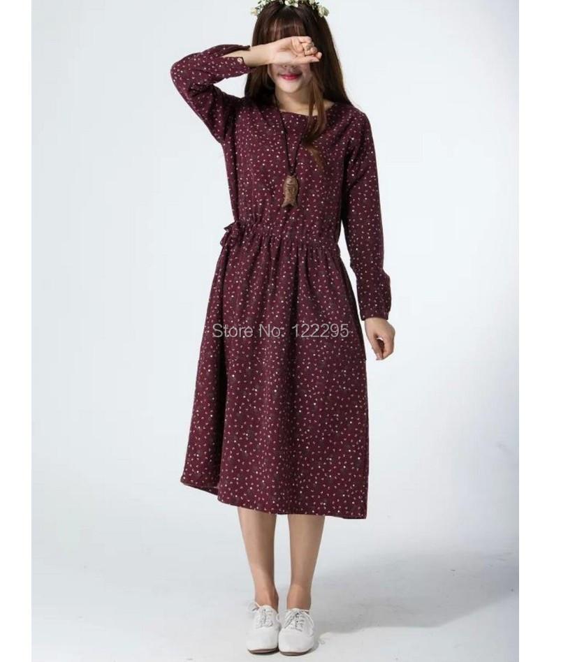 Женское платье .