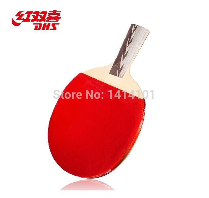 4star double happiness table tennis racket Thickening of the high elasticity sponge for beginner table tennis blade(China (Mainland))