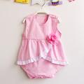 Cotton Dot Baby Bodysuits Newborn flower Clothes Body Sleeveless Bodysuites Summer Infant Jumpsuit Girl Baby floral