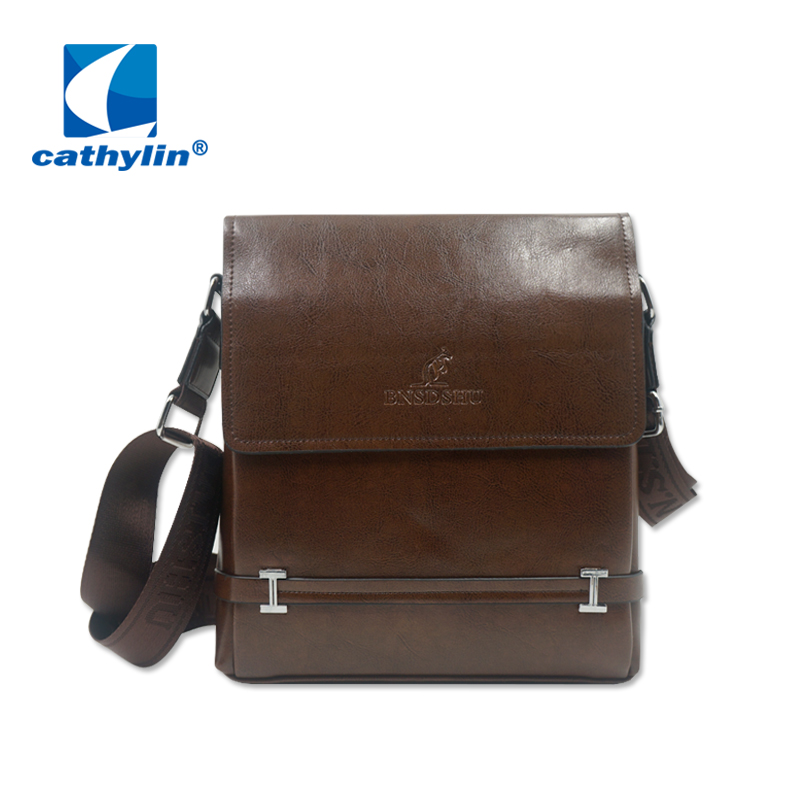 2016 New Arrival Male Cross Body Bags Hot Vertical Messenger Briefcase Real Brown Mens Genuine Leather Kangroo Bag for Sale<br><br>Aliexpress