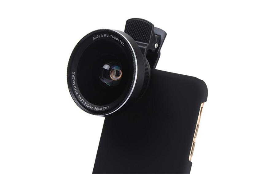Universal Lentes Mobile Telephoon Wide Angle Lens 0.6X Wide Macro Phone Camera Lenses for iPhone 5s 7 Plus Huawei Xiaomi Asus