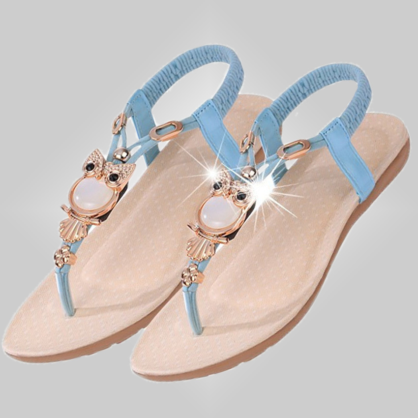 free shipping women flat shoes summer style simple design comfortable shopping sandal shoes 21(China (Mainland))