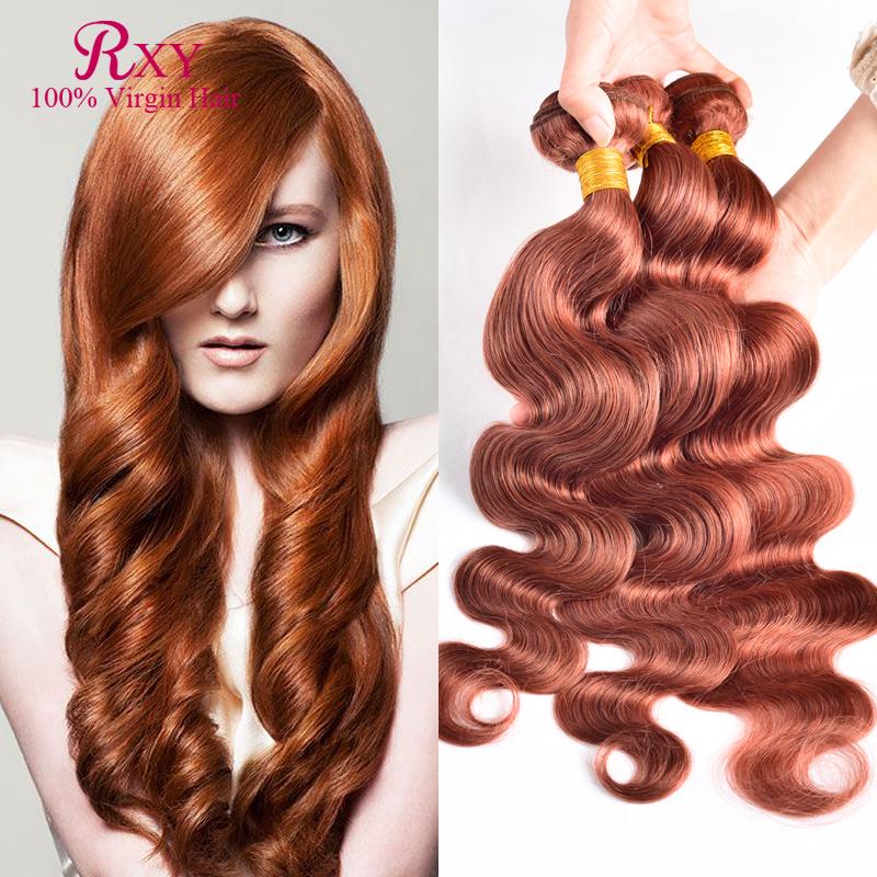 6A Grade #33 Indian Dark Auburn Color Hair Weaves 10-28 Unprocessed Virgin Body Wave Human Hair 4 Pcs Lot No Tangle No Sheding<br><br>Aliexpress