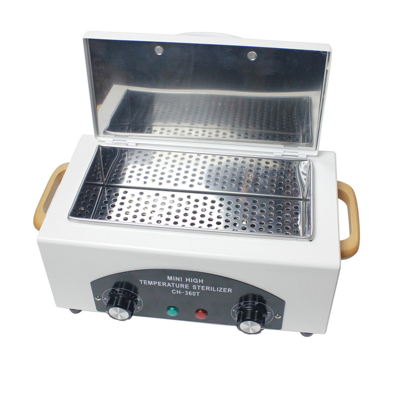 2017 New Type High Temperature Sterilizer With Removable Stainless Steel Tank Used For Nail Tools Autoclave Dental Sterilizer(China (Mainland))