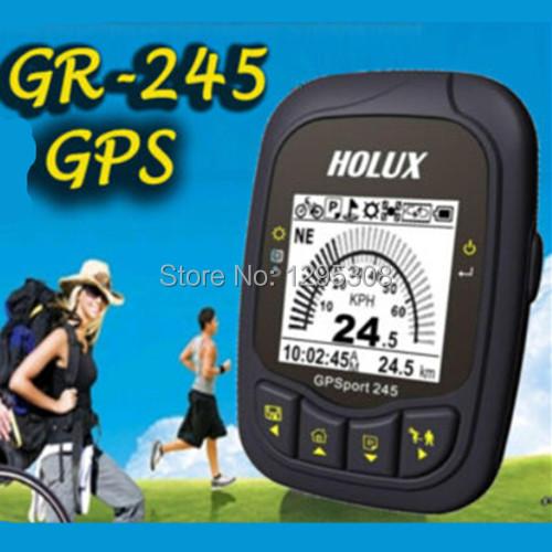 Original Holux Outdoor GPSport 245 GPS Positioning + POI Data logger for Biking/Running/Walking Free Shipping(China (Mainland))