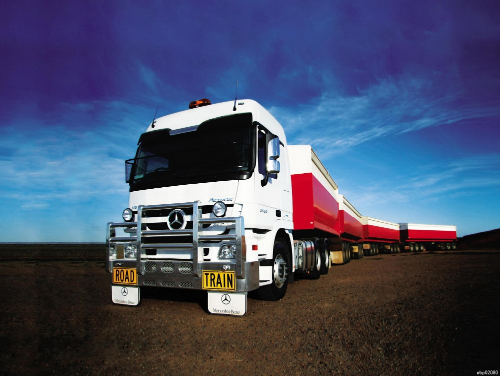 Mercedes Benz Actros Truck Trailer Art Huge Print Poster TXHOME D4473(China (Mainland))