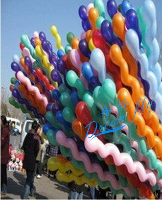 Free Shipping 100pcs/lot wholesales latex screw balloons Wedding balloon party balloons(China (Mainland))