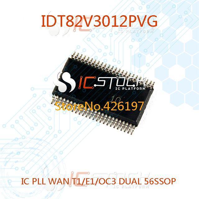 IDT82V3012PVG IC PLL WAN T1/E1/OC3 DUAL 56SSOP 3012 IDT82V3012 1pcs(China (Mainland))