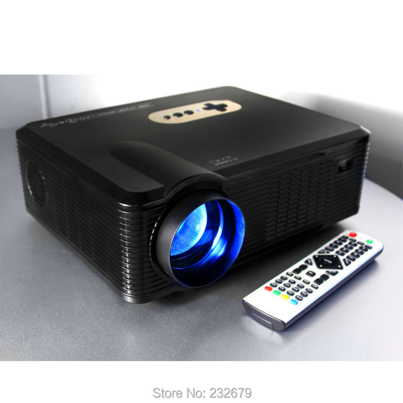2000:1 Contrast Ratio HDMI USB VAG A/V TV Interface 22 OSD Language Support 1080p 3D Video Projectors(China (Mainland))