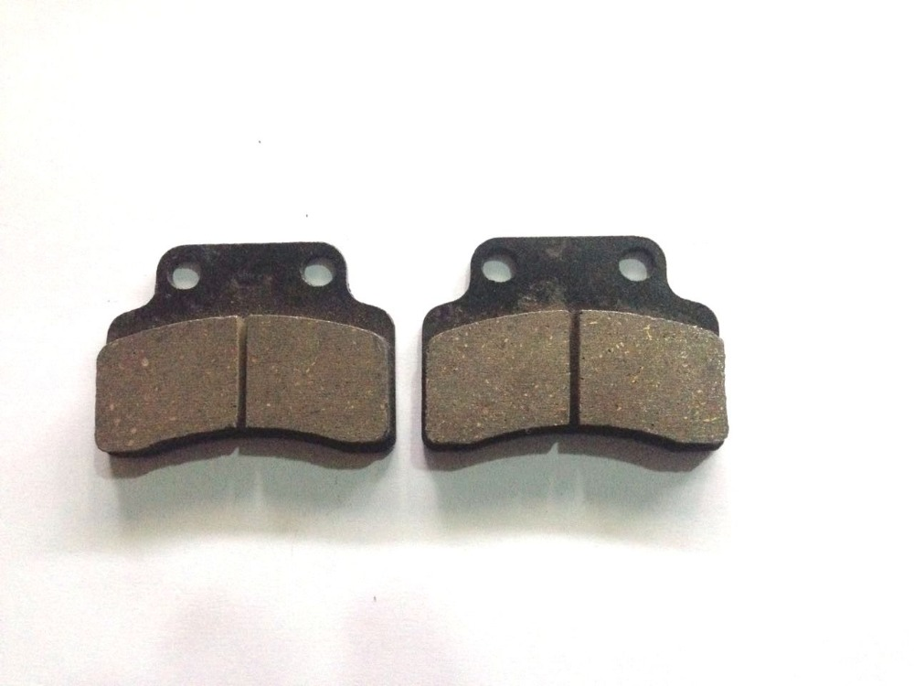 QJ 50 Brake Pads Set For Most Chinese font b GY6 b font Motorcycles Honda Yamaha