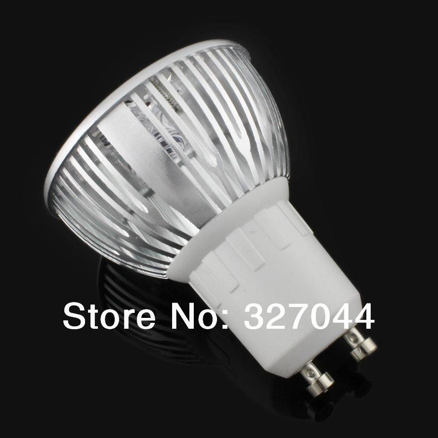 free shipping 10pcs/lot china ac 230v 50w halogen replacement 3*3W gu10 lamp led indoor spotlight(China (Mainland))