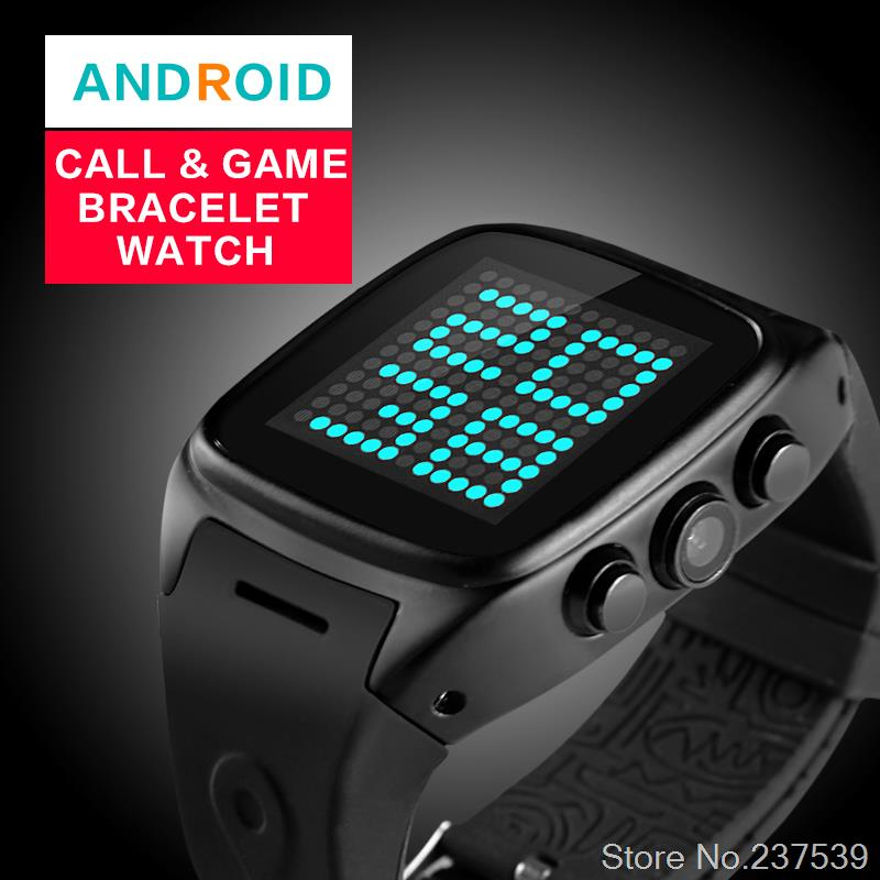 3G Smart Watch mobile phone Android with camera waterproof Bluetooth GPS navigation access card WiFi Internet watch(China (Mainland))