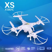 free shipping KF XS801C 2.4G 6-Axis RC Drone RC Quadcopter with 2MP HD Camera RTF Headless Mode quadcopter vs X5SC