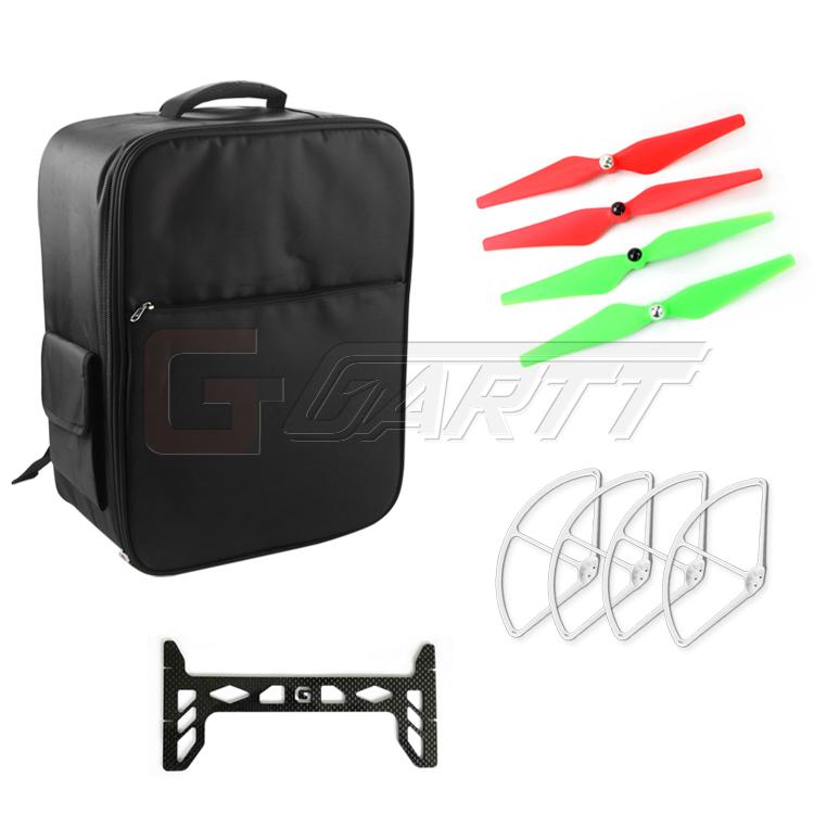 Backpack Bag for DJI Phantom 3  Quadcopter  +9450 propeller +9 Propeller guard protector + Gimbal Landing Guard<br><br>Aliexpress