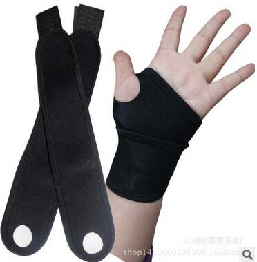 Weight Lifting Wrist Wraps Bandage Support Straps Gloves Gym FitnessTraining Wristband Adjust Badminton Wrist(China (Mainland))