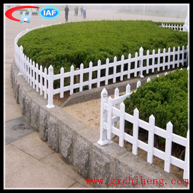 High Quality Hot Sale Garden Plastic Edging PVC Fence(China (Mainland))