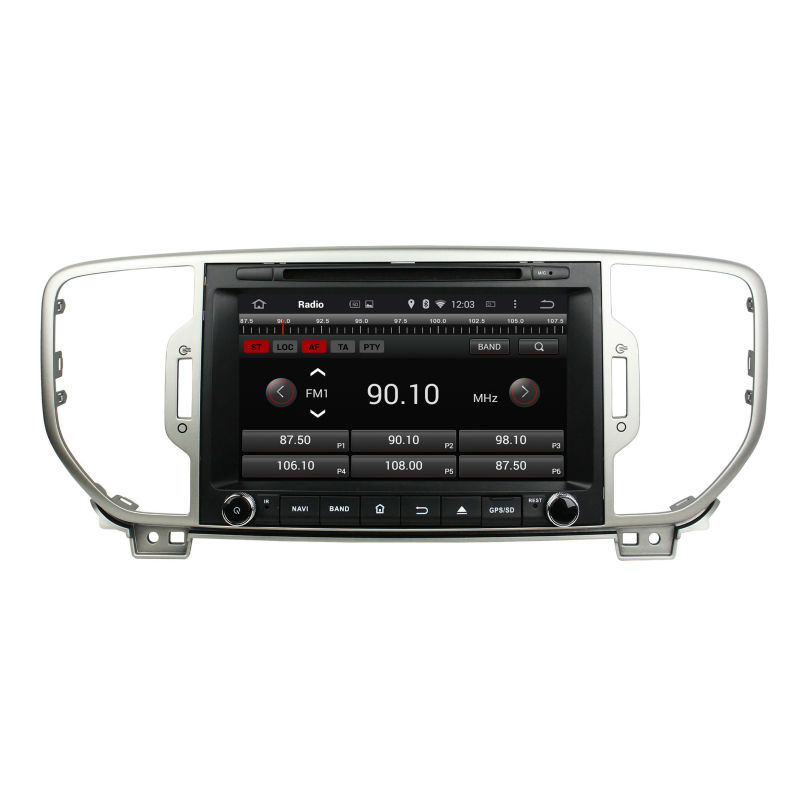 """Built in speaker 2 din 8"""" 1024*600 Android 5.1 car radio player for KIA Sportage 2016 with 3G,DVR,WIFI,OBD,CAN BUS,BLUETOOTH(China (Mainland))"""