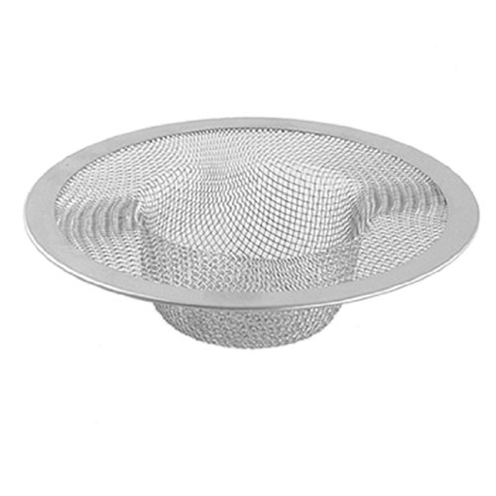 New Hotsale Best Price In Aliexpress promotion New Silver Kitchen Basket Drain Garbage Stopper Metal Mesh Sink Strainer <br><br>Aliexpress