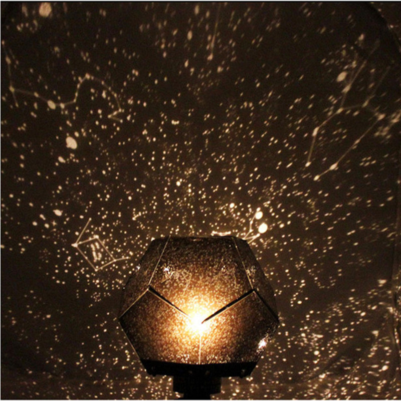 3 Colors Star Sky Projection LED Night Light Romantic Starry Sky Light for Bedroom Decoration(China (Mainland))