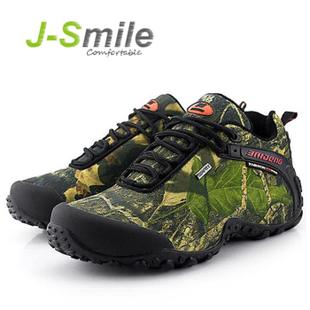 New Outdoor Fun & Sports Mountain Trekking Shoes Hunting Boots Leather Waterproof Hiking Shoes Men Boot 8068