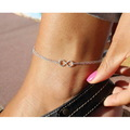 Crochet Pink Barefoot Sandals Womens Sexy Shoes Beach Women Summer Barefoot Sandals Anklet Barefoot Sandals Sexy Foot
