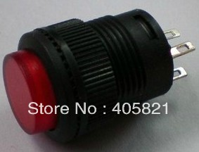 R16-503AD self-locking with light,push button switch 16MM,1A 250VAC 4 pins<br><br>Aliexpress