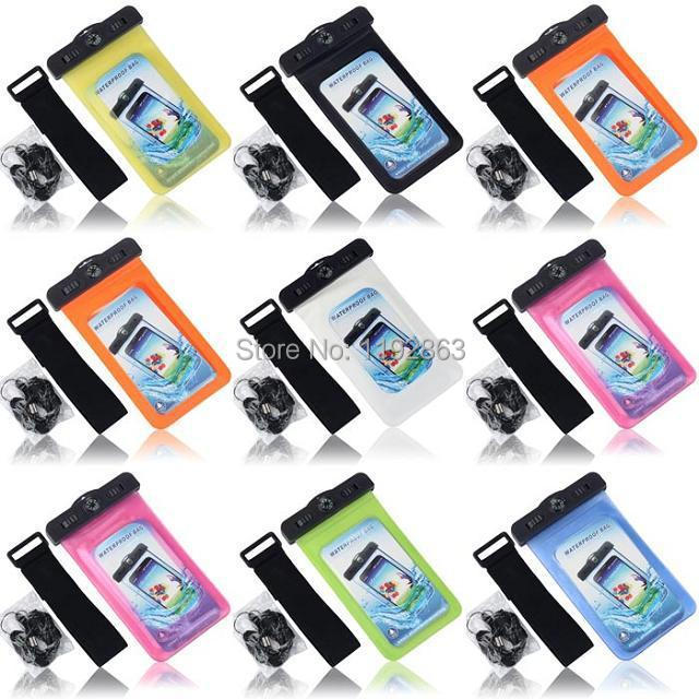 PVC Compass Waterproof Phone Case Underwater Phone Bag For Sony Z1 Z2 M1 M2 For For Blackberry Z10(China (Mainland))