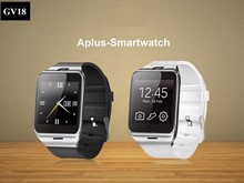 2015 GV18 New Fashion Bluetooth Smart Watch With SIM Card, TF Card, Mp3 and Mp4, Compatible With Apple And Android Phones